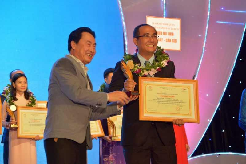 Giải thưởng Thương hiệu du lịch hàng đầu TP.HCM 2017